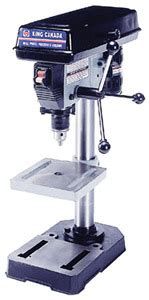 bench top drill press canada king canada kc 108c 8 quot bench top drill press kms tools