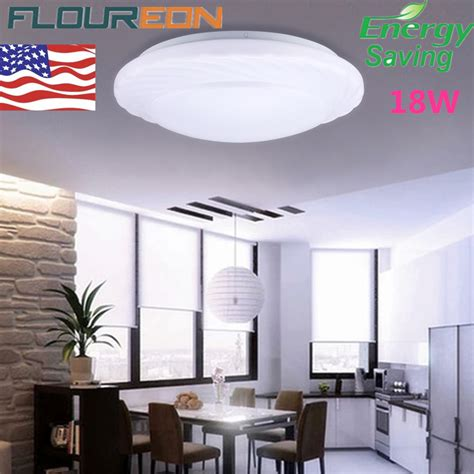 flush kitchen lighting 18w led ceiling light round flush mount fixture bedroom