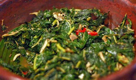 resep masakan indonesia resep tumis daun singkong pedas