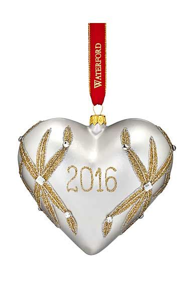 waterford holiday heirlooms nostalgic collection waterford 2016 heirloom nostalgic collection our dated lismore ornament