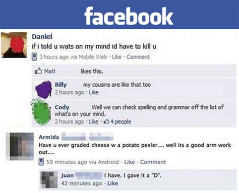 21 facebook grammar and spelling fails that ruin