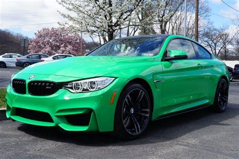 green bmw m4 dealer inventory fs 2016 bmw m4 in signal green