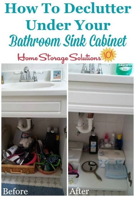 how to organize under bathroom sink how to declutter under bathroom sink cabinets home home