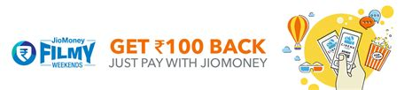 bookmyshow forum mall pay with jiomoney and get rs 100 cashback on bookmyshow