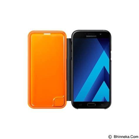 Harga Samsung A7 Black jual samsung neon flip cover for galaxy a7 2017 ef