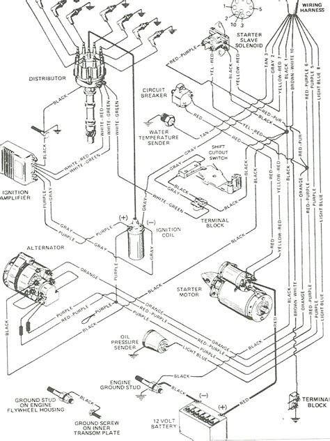 140 mercruiser wiring diagram mercruiser 3 0 firing order