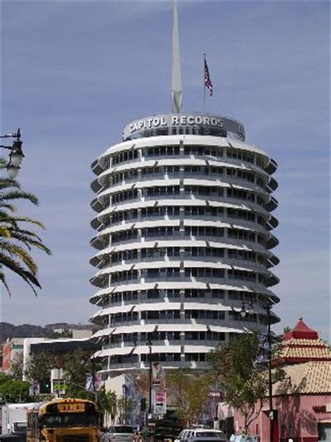 Records Louisiana Capitol Records Building Los Angeles Ca On Tripadvisor Hours