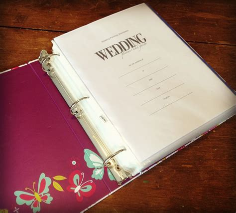 Wedding Planner Binder by How To Make A Wedding Planning Binder Your Easy Step By