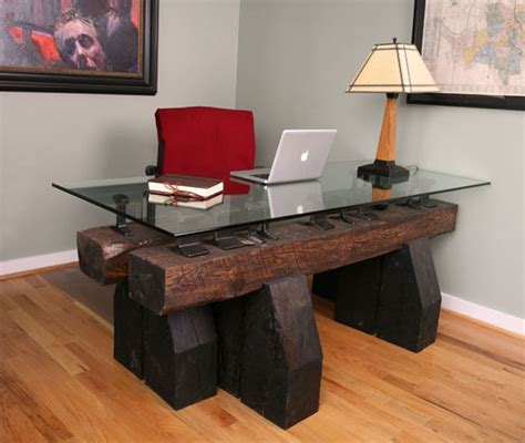 desk design ideas design office unique desks wooden stained innovative desk designs for your work or home office