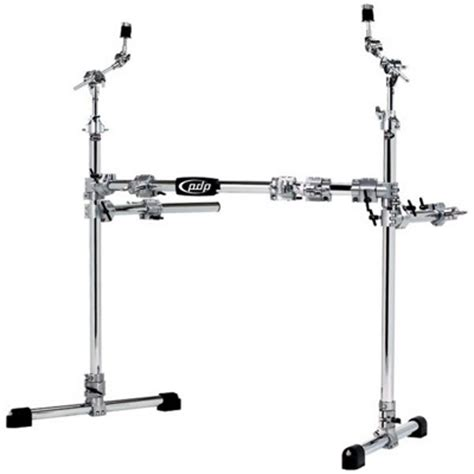 Dw Rack by Pacific By Dw Chrome Plated Steel Drum Rack Package Samash