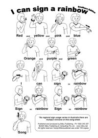 auslan net baby sign in australia