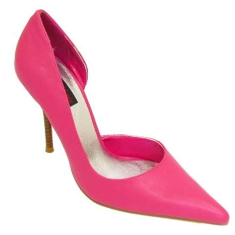 womens fuschia pink pointy court shoes co