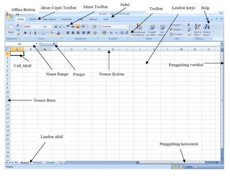 tutorial excel 2010 lengkap tutorial lengkap microsoft excel 2007 bagi pemula dan