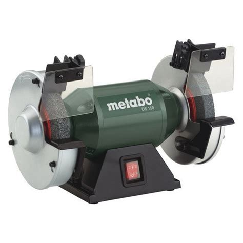 good bench grinder metabo 619150420 3 8 amp 6 in bench grinder review