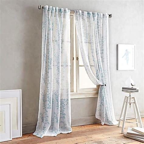 dkny curtains drapes dkny front row back tab sheer window curtain panel bed