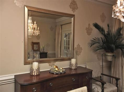 decorative mirrors for dining room mirror in dining room mirror over dining room buffet