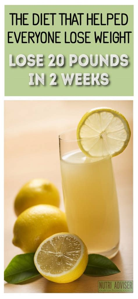 2 Weeks Detox Diets Weight Loss by The Diet That Helped Everyone Lose Weight 20 Pounds Less