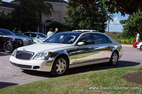 Mercedes Orlando Florida by Mercedes Maybach Spotted In Orlando Florida On 12 02 2012
