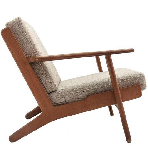 Hans Wegner Lounge Chair by Hans J Wegner Ge 290 Lounge Chair For Sale At 1stdibs