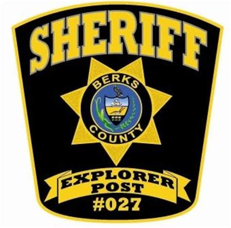 Berks County Sheriff S Office by Explorer Post 27