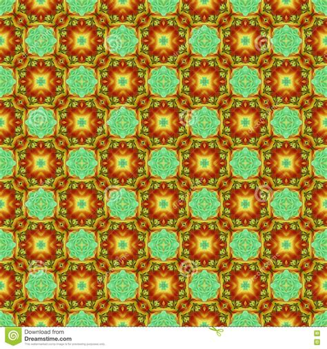 Cd Seamless Flower 3d seamless flower repeat pattern royalty free stock