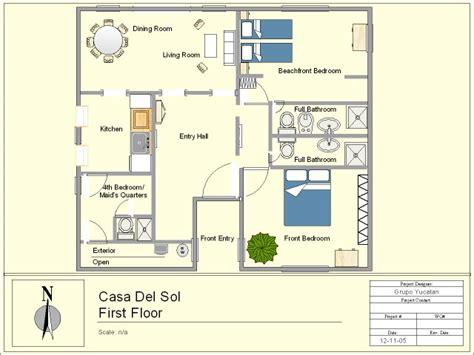 casa del sol plan casa del sol yucatan