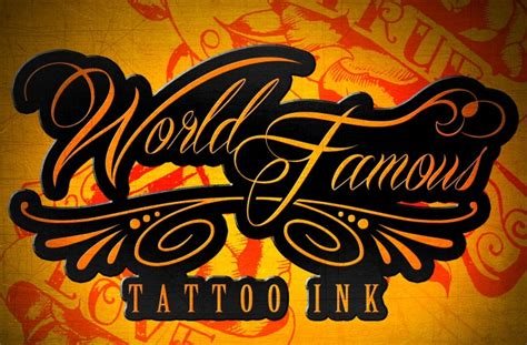 world famous tattoo ink world ink
