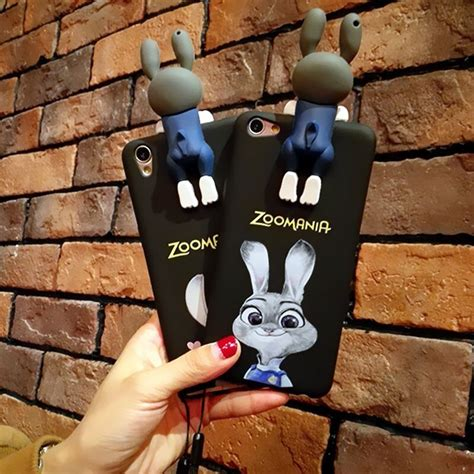 Silicon 3d Oppo F1s A39 Neo 7 Neo 9 2017 new 3d lying bunny soft silicone tpu phone