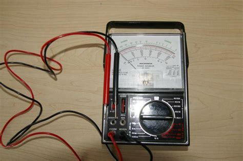 how to check resistor with analog multimeter resistance continuity and multimeter use right channel radios