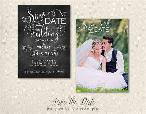 save the date card templates for photographers 14 save the date templates free premium templates