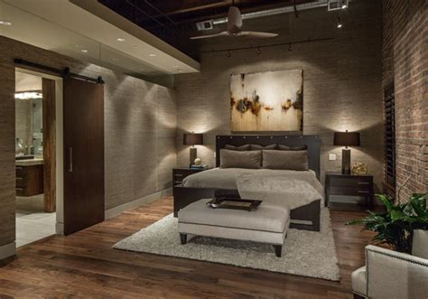 downtown penthouse contemporary bedroom omaha