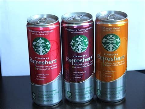energy drink at starbucks starbucks refreshers new energy drinks from starbucks