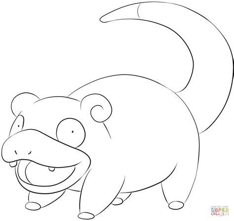 pokemon coloring pages inkay slowpoke m 229 larbok gratis m 229 larbilder att skriva ut