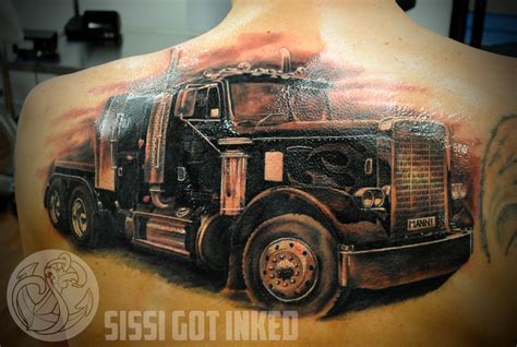 peterbilt tattoos the gallery for gt peterbilt truck tattoos