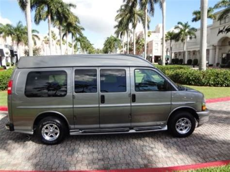 book repair manual 2006 chevrolet express 2500 security system purchase used 2006 chevy express starcraft conversion van 1 owner clean carfax tv dvd leather