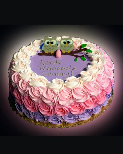 Owl Baby Shower Cakes For A by Baby Shower Cakes Owls Www Pixshark Images