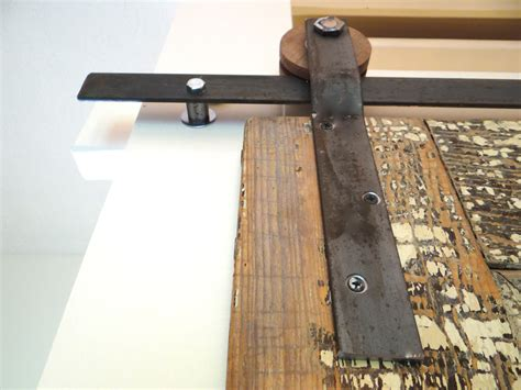 Make Your Own Barn Door Track Diy Door Track Hardware Www Lynneknowlton Design The You Want To Live