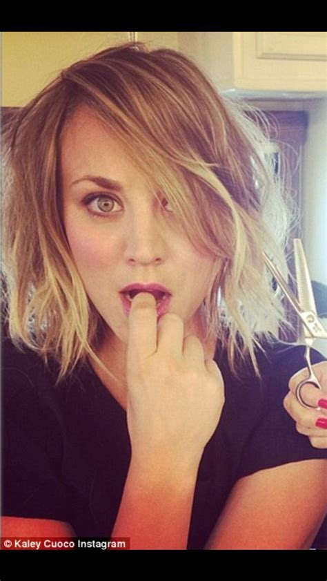 how to get kaley cuoco haircut kaley cuoco haircut short wavy bob hair makeup pinterest