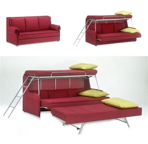 couch that folds into a bunk bed 11 space saving fold down beds for small spaces furniture