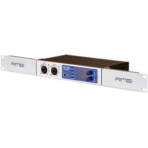 Half Rack Adapter by Rme Rm19x Rack Adapter For Select Half Rack Rme Devices Rm19x