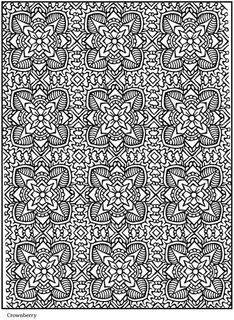 lotus designs coloring pages welcome to dover publications geometric patterns