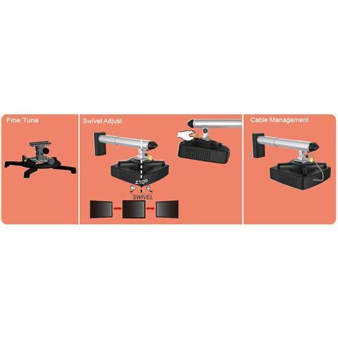 Fixation Plafond Videoprojecteur by Ldlc Pb095b Fixation Plafond Pour Vid 233 Oprojecteur