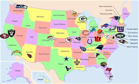 map usa football teams 301 moved permanently