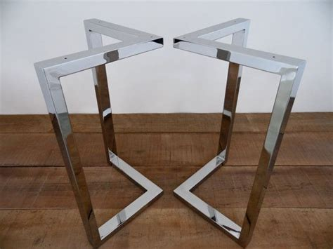Pied Metal Table 4284 best 25 stainless steel table legs ideas on