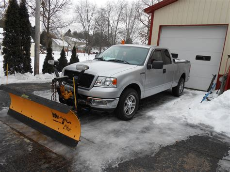 snow plow     ford truck enthusiasts forums