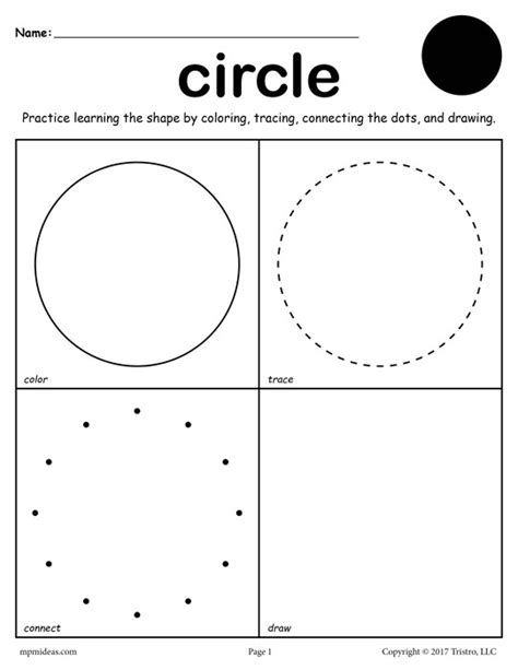 draw shapes free 12 free shapes worksheets color trace connect draw