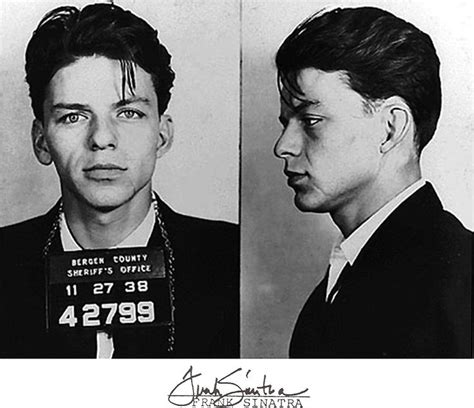 Bergen County Arrest Records Frank Sinatra Arrest 42799 Bergen County Sheriff S Office Hackensack New Jersey