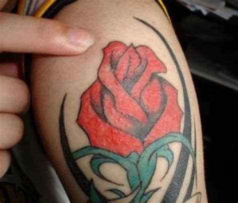 tribal rose tattoos for men 4 attractive tribal for and mens
