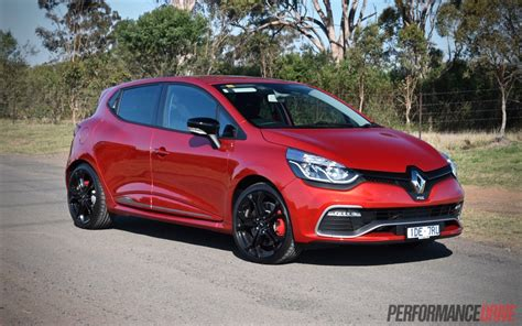 renault red 2015 renault clio r s 200 cup review video