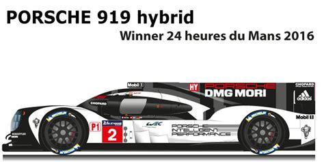 porsche 919 hybrid 2016 porsche 919 hybrid n 2 racing car draws